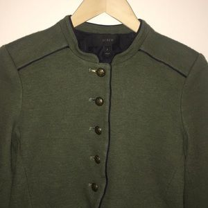 J. Crew Jackets & Coats - J Crew Military Wool/Cotton Jacket